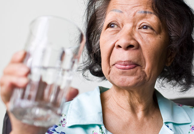 elderly dehydration