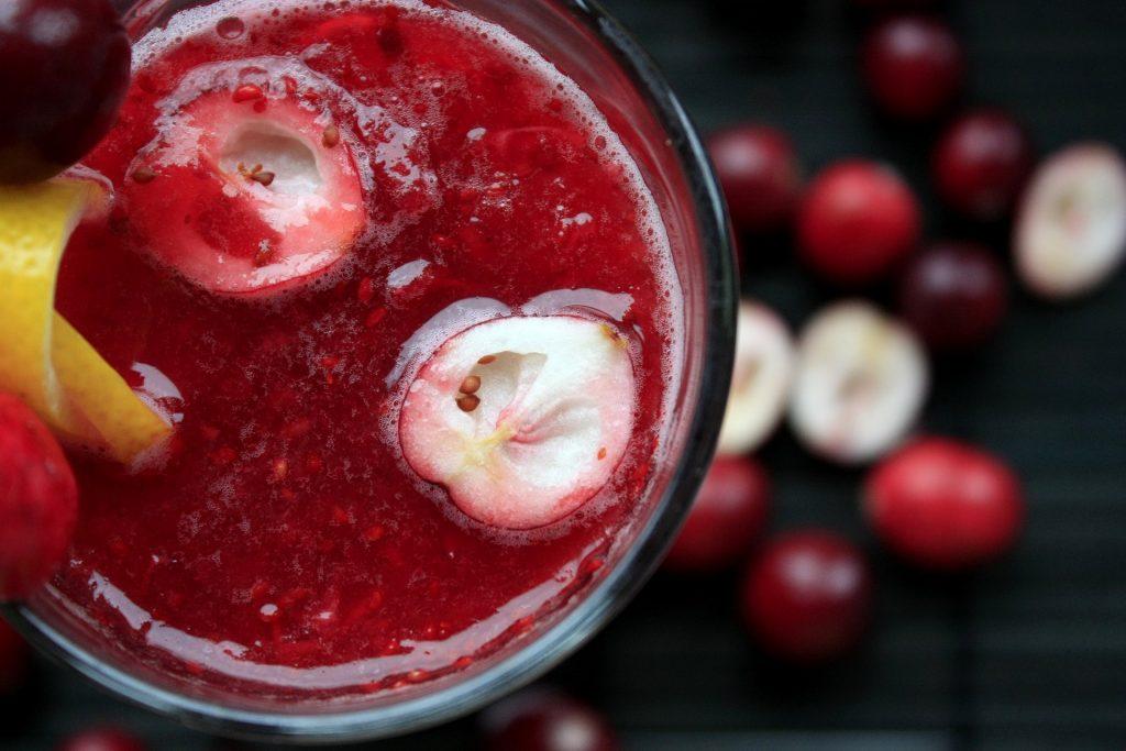 Cranberry juice benefit